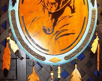 Native American Horse Shield