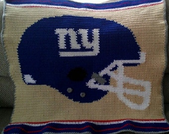 Ny Giants Crochet Afghan Pattern : Unique crochet baby blanket related items Etsy