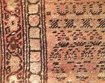 Vintage Moroccan Rug Runner