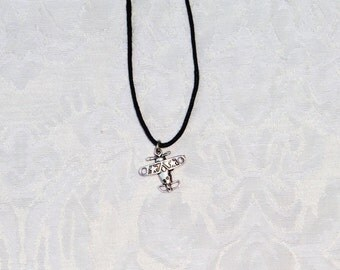 Star Airplane / men's jewelry / teen / plane / boys jewelry / jewelry / women's jewelry / airplane / men / women