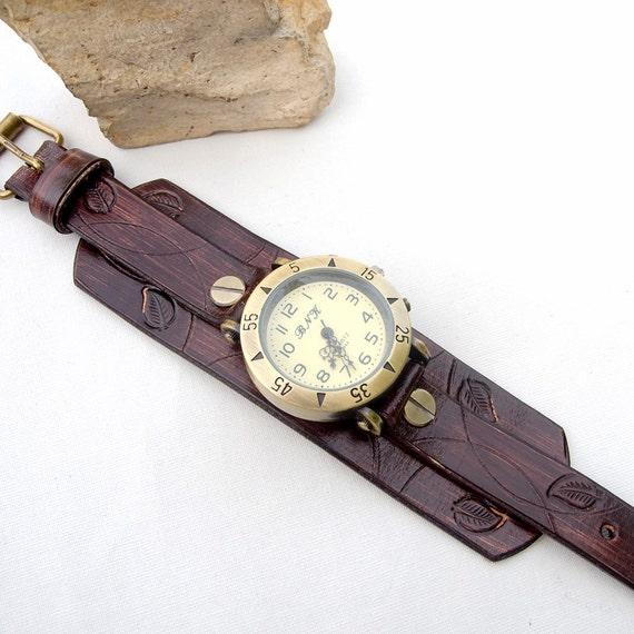 leather leather cuff leather wrist