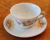 """Sweet Demitasse and Saucer - Made in """"Occupied"""" Japan"""