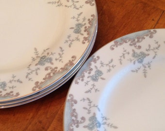 "Mikasa ""Seville"" Set of Four Dinner Plates"