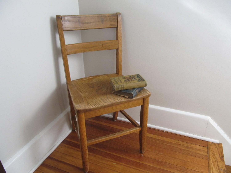 vintage wood school chairs adult size 18 haute juice