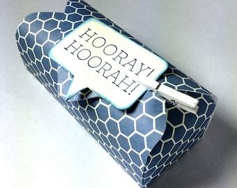 Hooray! Hoorah! Wedding favor box
