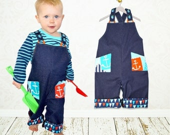 Baby romper sewing pattern, boy sewing pattern pdf, baby boy pattern, baby sewing pattern, boy romper pattern, boy clothing pattern, CHARLIE