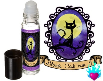 Black Cat no. 9 Perfume Oil Rollerball