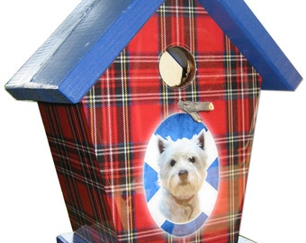 West Highland Terrier Birdhouse