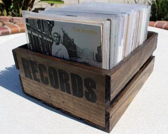 "7"" Vinyl Record Crate (Records)"