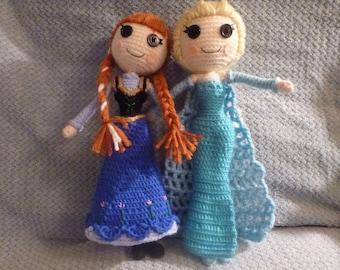 Anna OR Elsa doll