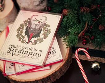 Krampus Christmas Card Box Set