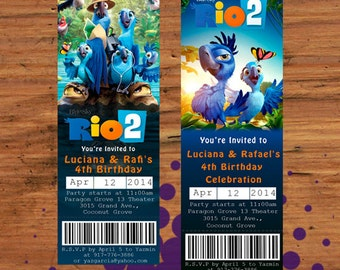 Digital Only - Rio 2 Movie Tickets