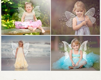 Butterfly Wings Photo Overlays - Photography Overlays ID222, Instant Download