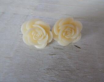 Rose Earrings - bridesmaid gift
