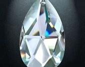 12 Asfour Full 30% Lead Crystal  Chandelier Prism Suncatcher Pendants 38mm Clear