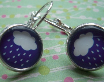 Small earrings so cute