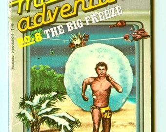 Vintage Micro Adventure #8 The Big Freeze Parachute Press Scholastic Paperback Early BASIC Computer Game Book 1985 1st Edition