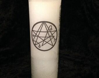 Necronomicon Altar Candle