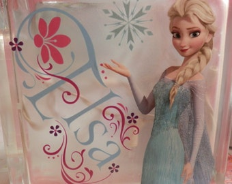 Frozen Night Light Featuring Anna and Elsa
