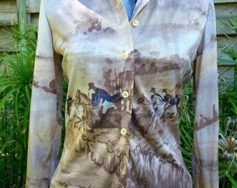 Nik Nik Shirt Vintage 1970S polyester Mens shirt Disco shirt 1970S button down Womens Nik Nik shirt vintage nik nik