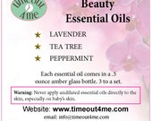 Essential Oil Sets for Beauty OR Cooking