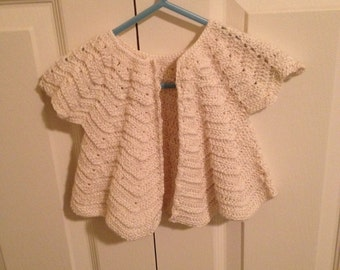 antique spring cardigan for baby