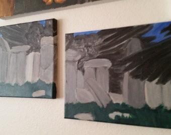 The Ravens of Stonehenge 2-Piece Set