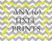 Any (6) 11x14 Prints - ANY prints from Rizzle And Rugee