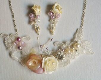 Wedding pearl necklace, Pearl Necklace, Bridesmaid Necklace