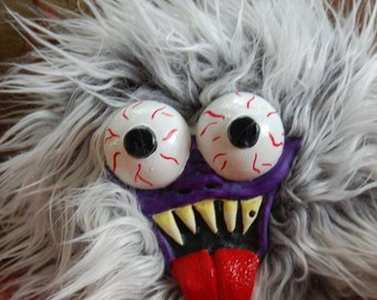 Plush Monster Art Doll