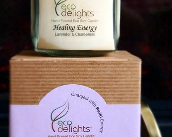 Healing Energy - 8oz. soy wax candle