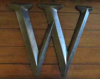 Letter W/ Pick Your Own Letter/ Wall Letter/ Oil Rubbed Bronze or Pick Your Color/ Wall Decor/Mantle Decor/ Nursery Letter/ Initials