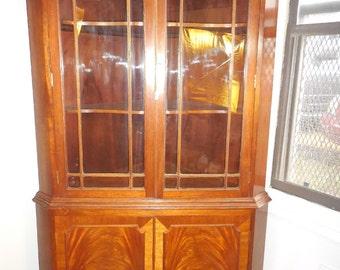 Large Corner Shelving Cabinet
