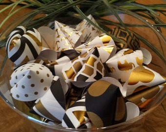 Fortune Cookie Wedding Favors- All That Glitters is Gold
