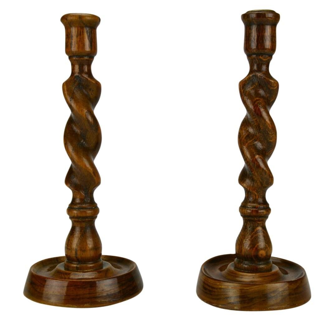 Twist Wood Columns : Item details