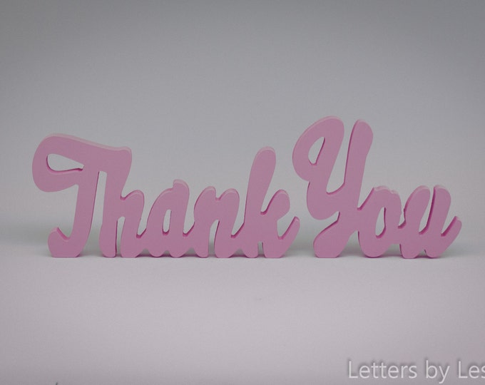 Thank You Sign, Wooden Thank You Sign, Photo Prop, Event Decoration
