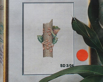 Counted Cross Stitch Australian Frog Collection Log Frog by Stitcheree Vintage 1990 Needlework Kit