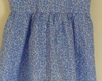 3t strap back zippered dress