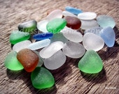 29 pcs of unusual sea glass colors from the Peruvian coast HU-0021
