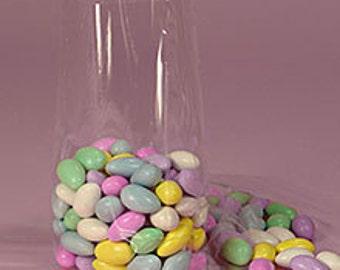 100 Smal Gusseted Crystal Clear Cellophane Bags Wedding Favors, Cello Bakery Cookies, Cello Candy Bags, Cello Party Favor, Cello Gift Bags,
