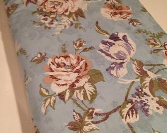 Paintbrush Studios ---- Bedford Place Floral --- Designer Fabric --- Fabric By The Yard