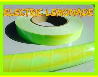 Electric Lemonade UV Reactive Specialty Taped Practice Hoop By Colorado Hoops