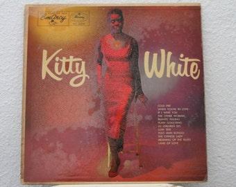 "Kitty White - ""Kitty White"" vinyl record, 1956, Jazz, Easy Listening"