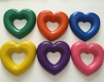 Jumbo Heart Crayon