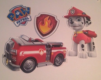 Paw Patrol Pups and Their Trucks Die Cuts