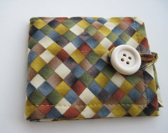 Shades of Autumn Fabric Bi-Fold Wallet