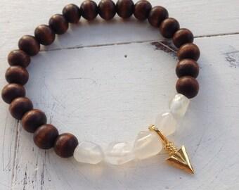 Arrowhead Layering Bracelet in Mica