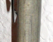Black Titanium Compson click pen with Beetle Kill Pine body