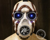 Borderlands Psycho Bandit Mask (Game Style) - Painted with LEDs