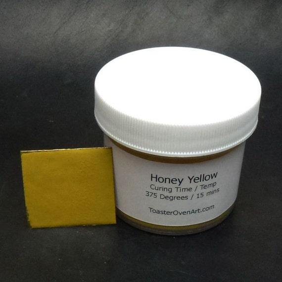 Honey Yellow Powder Paint From Toasterovenart On Etsy Studio